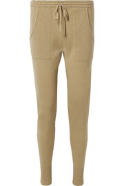 Astucieux ribbed wool and cashmere-blend pants
