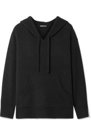 James Perse Cashmere hooded top