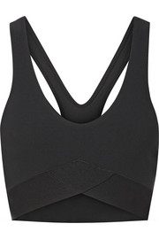 Stretch sports bra