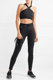 Power stretch track pants