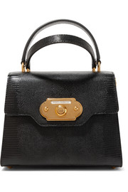 Dolce & Gabbana Welcome small lizard-effect leather tote