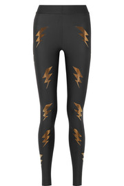 Ultracor Bolt appliquéd stretch leggings