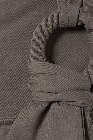 Eres Studio Cliché Badeanzug mit asymmetrischer Schulterpartie und Verzierung