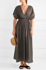 Norma cotton-jersey maxi dress