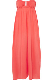 Eres Zephyr Rosalie cotton-jersey maxi dress