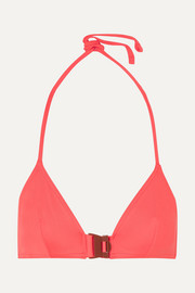 Edge triangle bikini top
