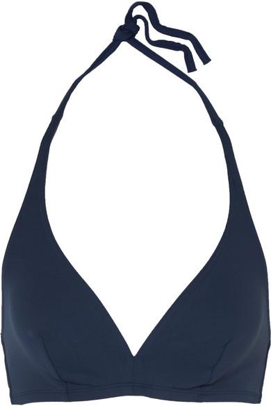 Eres - Les Essentiels Gang Triangle Bikini Top - Storm blue