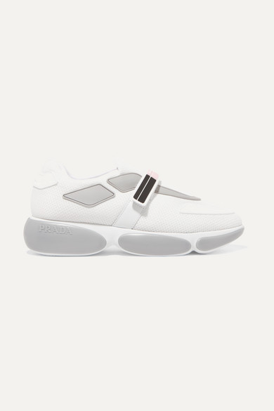 Prada logo embossed sneakers discount browse cheap online store Manchester Xjhs9PU