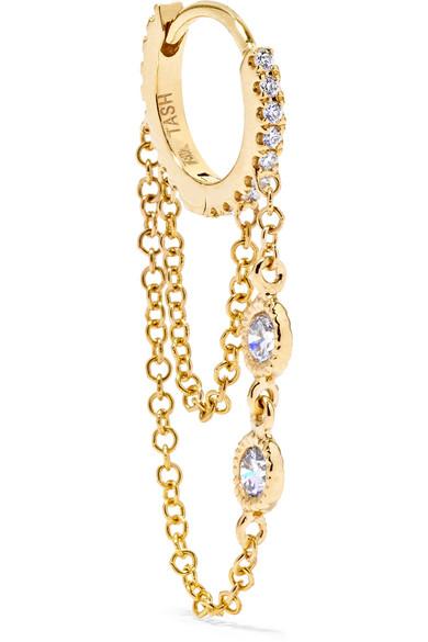 Maria Tash - Eternity 18-karat Gold Diamond Earring