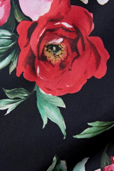 Culotte Bikini Dolce & Gabbana Avec Imprimé Floral