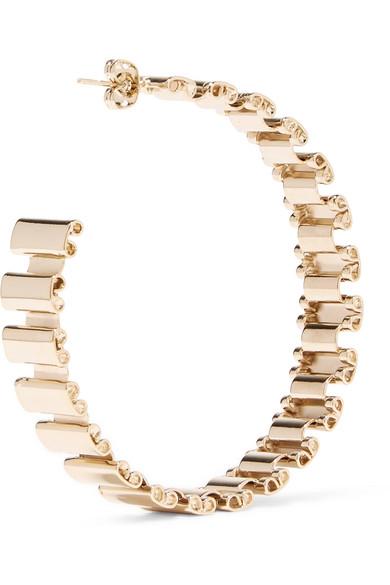 Rosantica Casta Gold-tone Hoop Earrings GD8EcdJ1i7