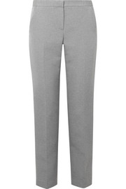 The Row Maverly cady straight-leg pants