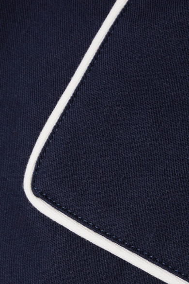 Miu Miu Hose aus Twill aus einer Baumwollmischung