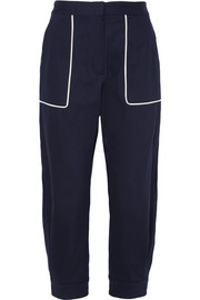 Miu Miu Cotton-blend twill pants