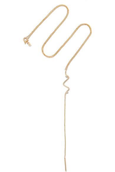 SARAH & SEBASTIAN SONAR 14-KARAT GOLD DIAMOND NECKLACE