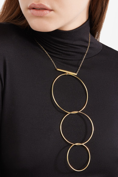 Natasha Schweitzer Levitation Gold-plated Necklace OmjhkZB3