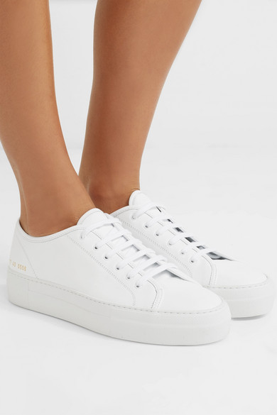 Common Projects Tournament Leder-Sneakers