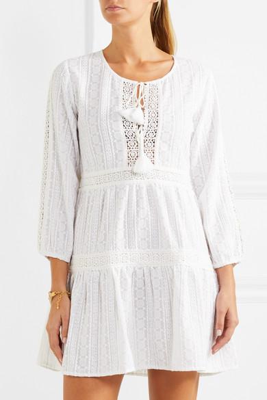 Melissa Odabash Reid Strandkleid aus gehäkelter Baumwolle