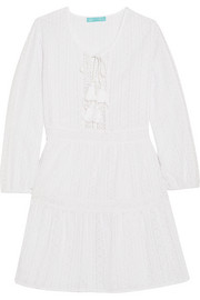 Melissa Odabash Reid crocheted cotton coverup