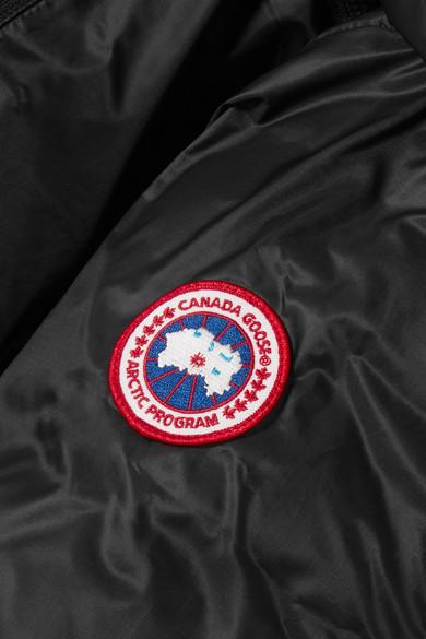 Canada Goose Camp gesteppte Daunenjacke aus Shell mit Kapuze
