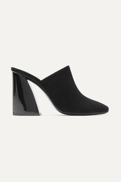 Mercedes Castillo Abia Suede Mules Sale Extremely dTnGBQ4d