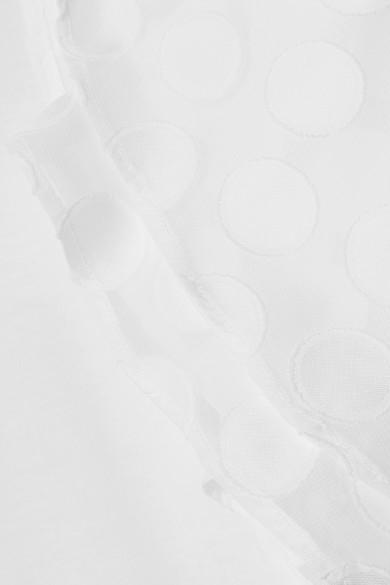 MICHAEL Michael Kors Mehrlagiges T-Shirt aus einer Baumwollmischung mit Fil Coupé Billiger Preis Spielraum Hohe Qualität Günstig Preis-Kosten Verkauf Der Billigsten cKLuW5N