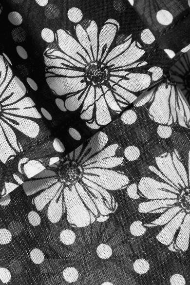 Lisa Marie Fernandez Nicole bedruckter Maxirock aus Baumwoll-Voile