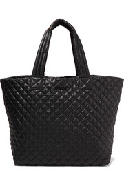 Metro large quilted shell tote