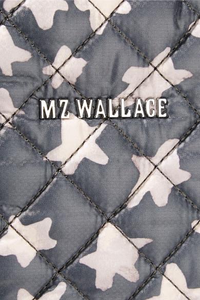 MZ Wallace Metro bedruckte Tote aus gestepptem Shell