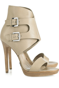 Michael Kors | Buckled leather sandals | NET-A-PORTER.COM from net-a-porter.com