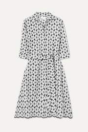 Lisa Marie Fernandez Broderie anglaise cotton dress