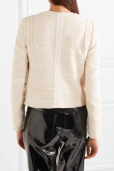 Proenza Schouler Lady Jacke aus Bouclé-Tweed aus einer Baumwollmischung  Wie Viel Marktfähig iVRfsTy31