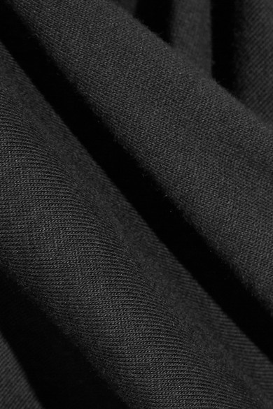 Proenza Schouler Midikleid aus Baumwoll-Jersey mit Wickeleffekt