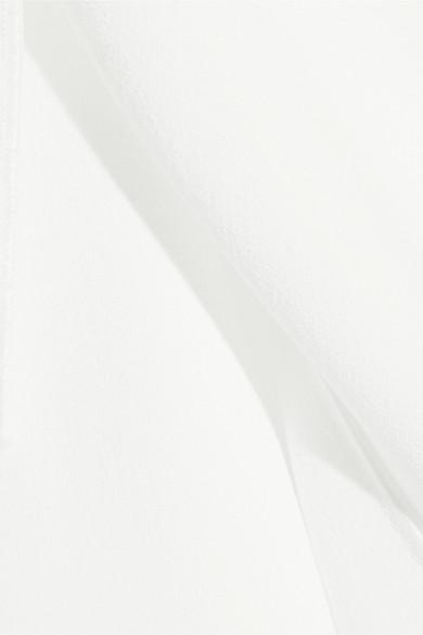 Proenza Schouler Asymmetrisches Oberteil aus Crêpe