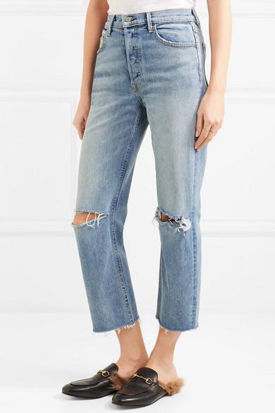 Helena distressed jeans GRLFRND rDILed7B