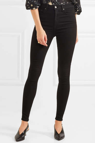 GRLFRND Kendall hoch sitzende Skinny Jeans