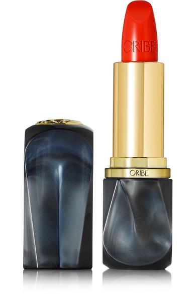 ORIBE Lip Lust Crème Lipstick - Tropic Flame in Papaya