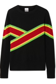 Anastacia striped cashmere sweater