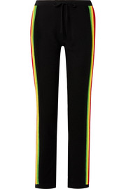Mabel striped cashmere tapered pants