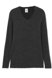 Lark ribbed cashmere sweater