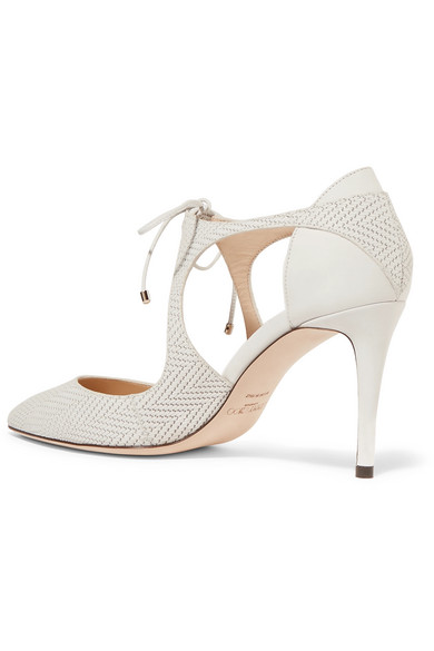 Jimmy Choo Embossed Cutout Pumps cheap sale collections discount wiki clearance cheap price with credit card sale online 3HiwsBmA6