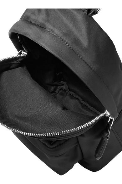Versus Versace Verzierter Rucksack aus Shell mit Lederbesatz