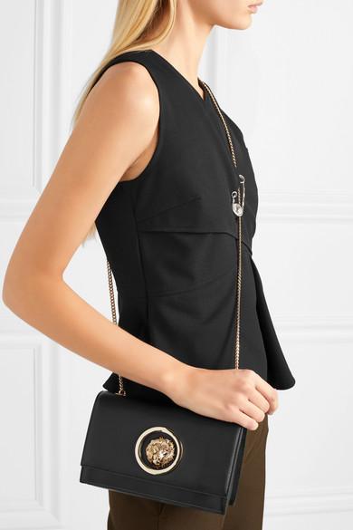 Versus Versace Verzierte Clutch aus Leder