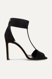 Jimmy Choo Bethel 100 suede sandals