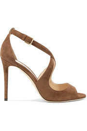 Jimmy Choo Emily 100 suede sandals