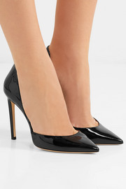 Jimmy Choo Lise 100 patent-leather pumps
