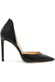 Lise 100 patent-leather pumps