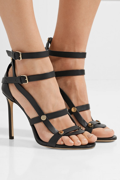 873aed72d0a Jimmy Choo. Motoko 100 studded leather sandals
