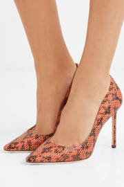 Jimmy Choo Romy 100 elaphe pumps