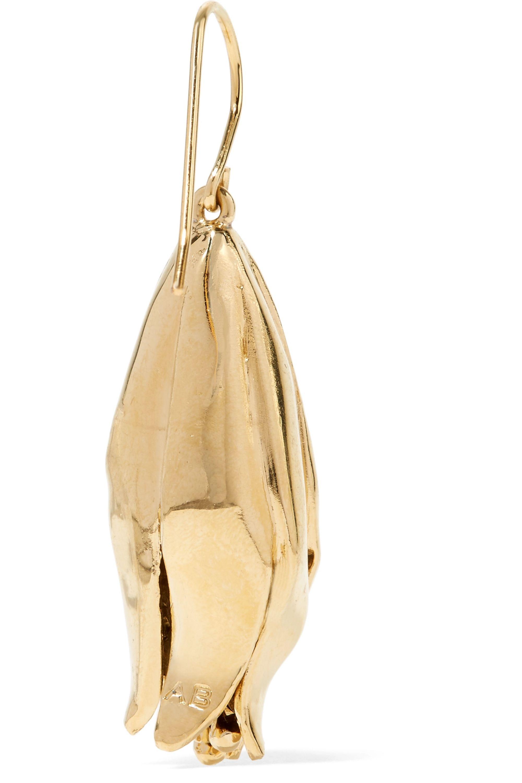 Aurélie Bidermann Demetria gold-plated earrings